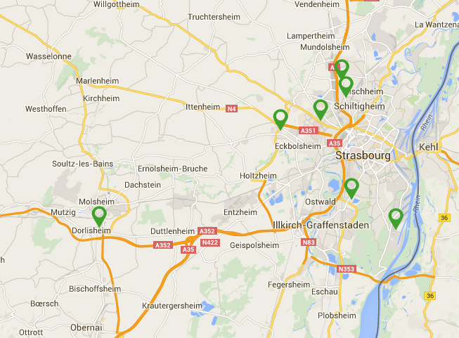 carte des stations